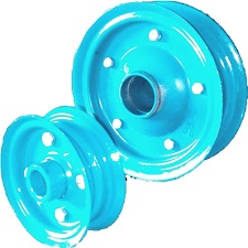 SOLID RUBBER RIMS
